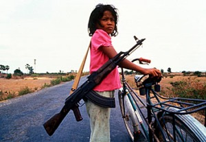 Girl Child Soldier